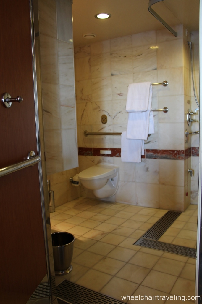 Stateroom Accessible Restroom