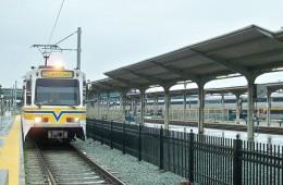 Sacramento Amtrak Train in California