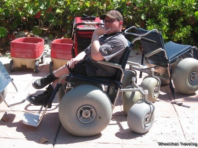 castaway cay sand wheelchairs