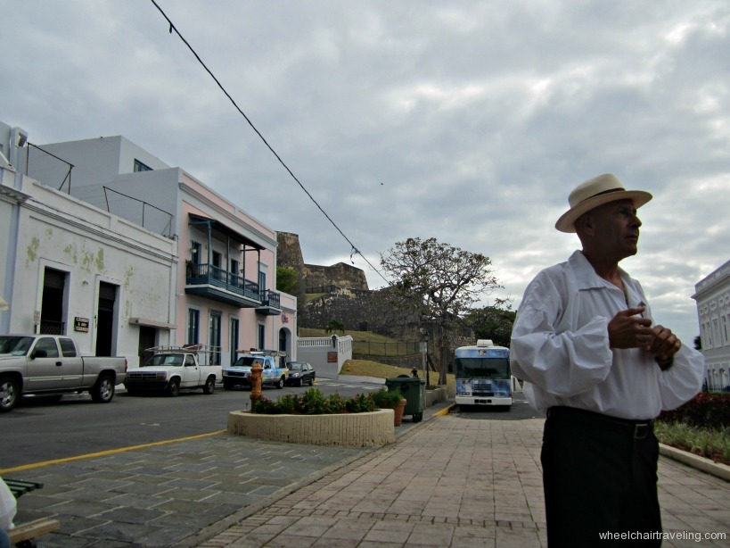 puerto rico 3 - our guide