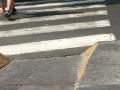 Forgotten median curb cut