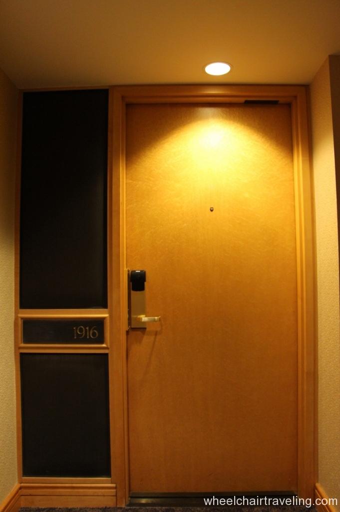Door into our room