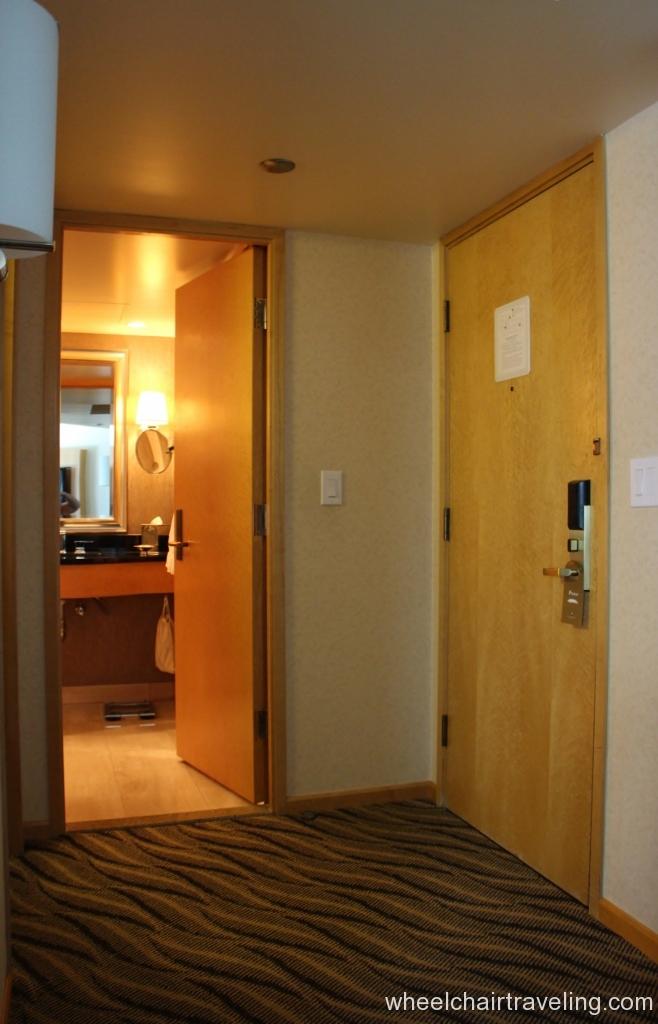 Hotel Room Entryway