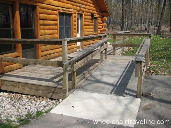 HC Cabin ramp (WI DNR)