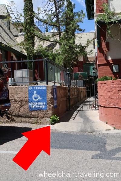 20 Copper Queen Accessible Entrance_ARROW