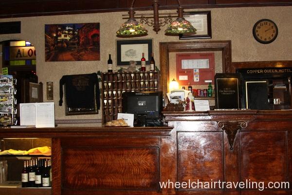 21 Copper Queen Front Desk