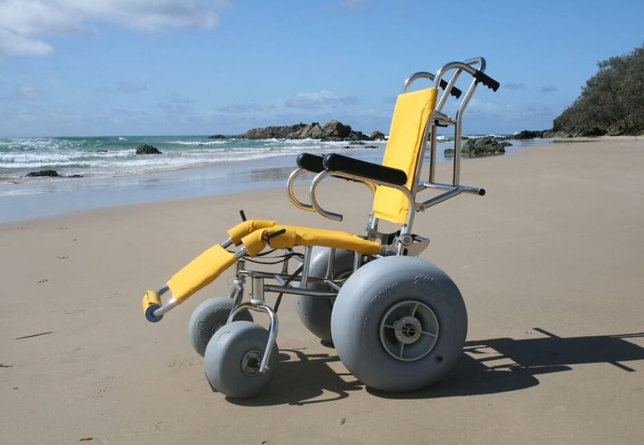 sandcruiser beach wheelchair courtesy of sandcruiser