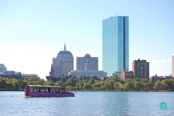 Duck Tour on Boston Harbor