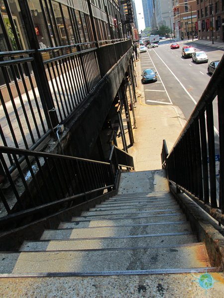 stairs in some places