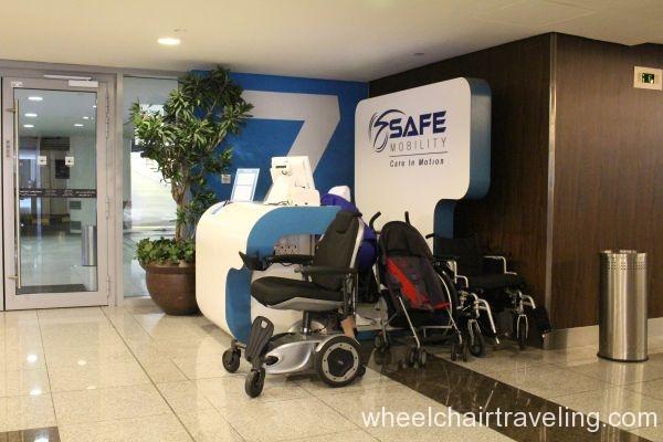 Mall of Dubai Rental Wheelchairs