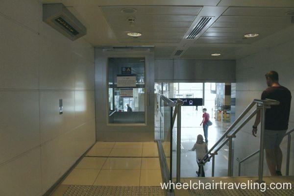 Metro Station Lift