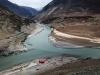 Indus Zanskar Confluence by Sudarshan