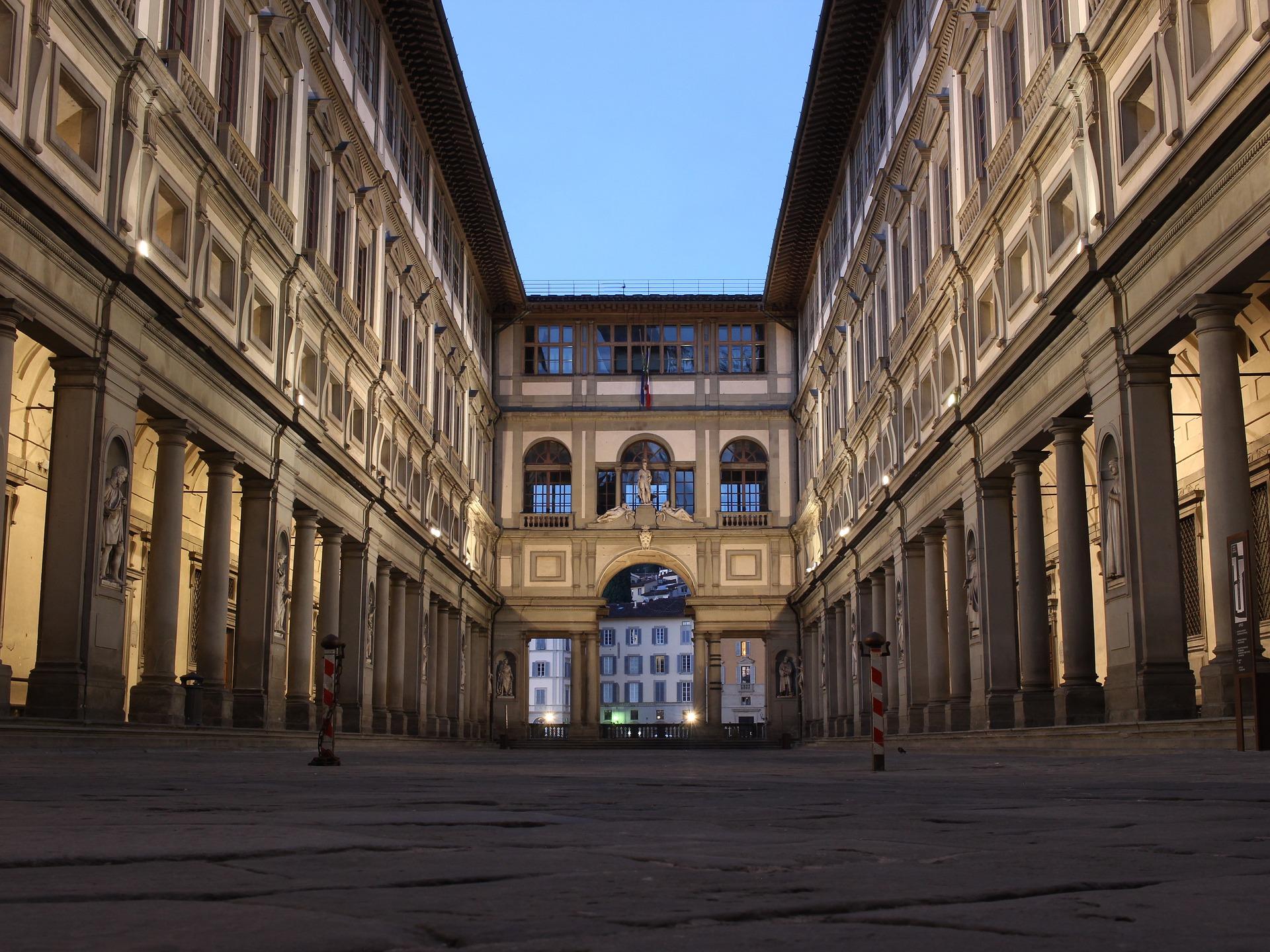 Tuscany - Florence - Uffizi Gallery 1