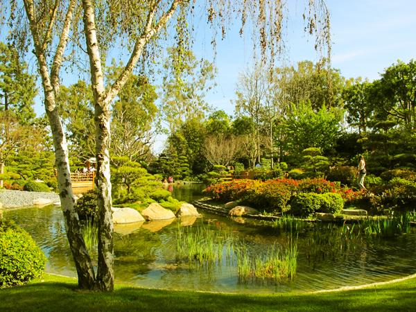 Japanese Garden at Cal State Long Beach