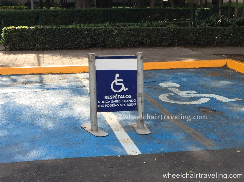 Respect these spaces - you never know when you might need them