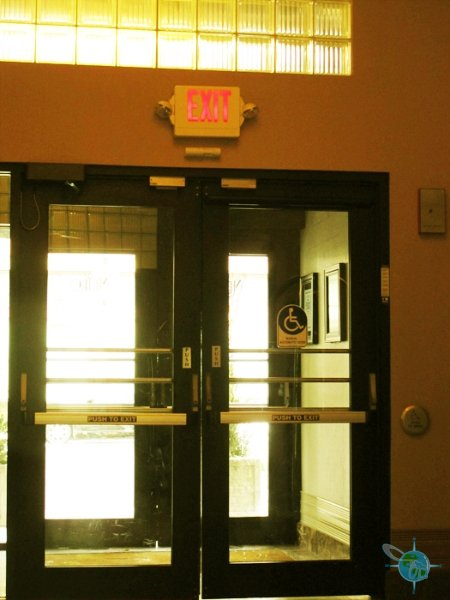 automatic front doors