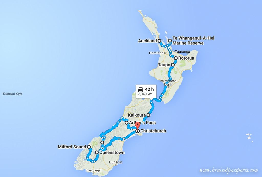 New-Zealand-Road-Trip-Itinerary-Map-1024x692