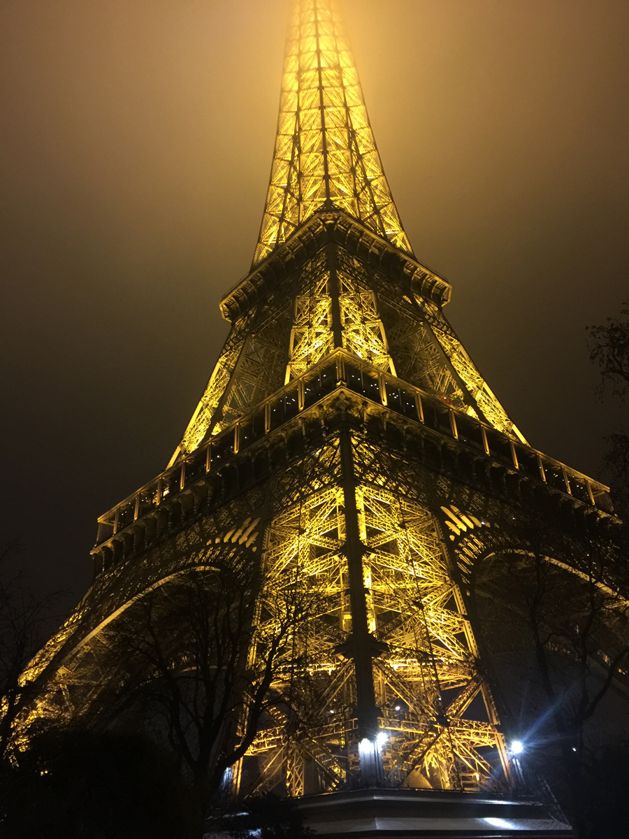 Eiffel Tower photo by Kerry Williams