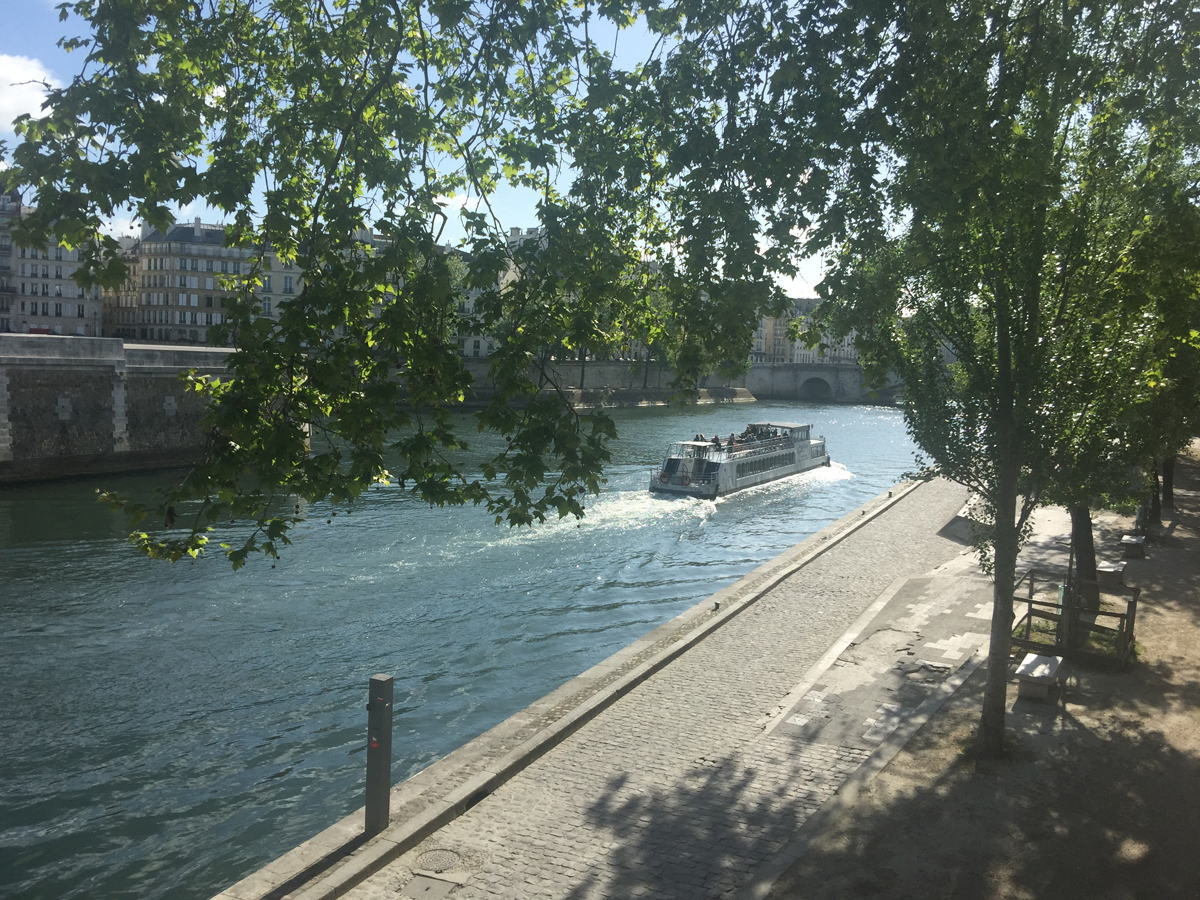 Cruise the seine