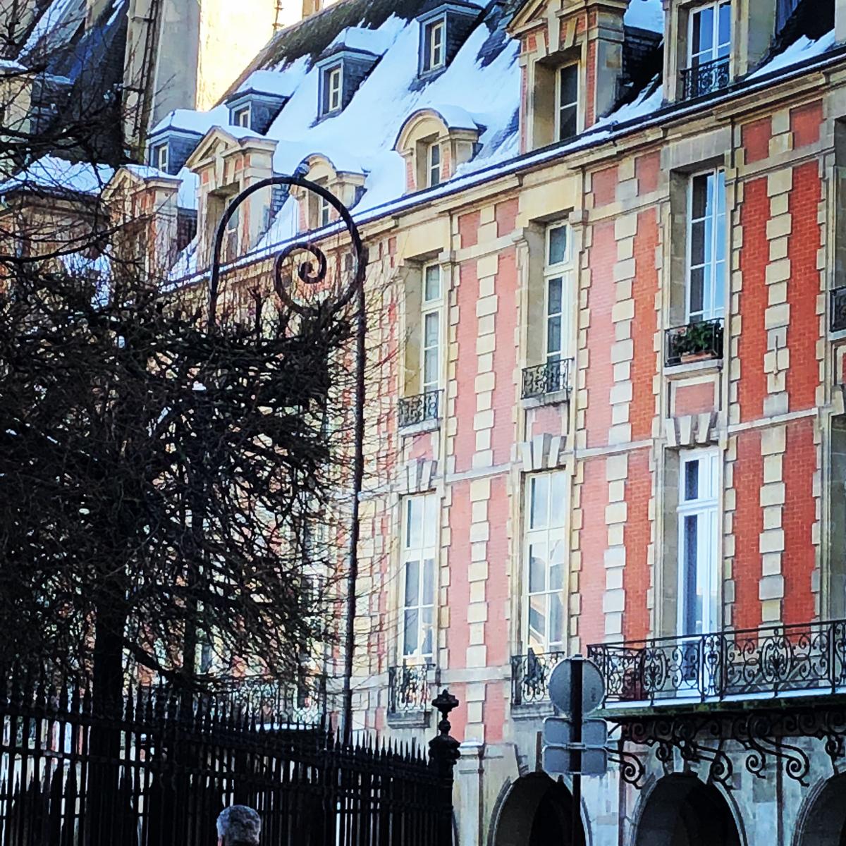 Paris in winter.