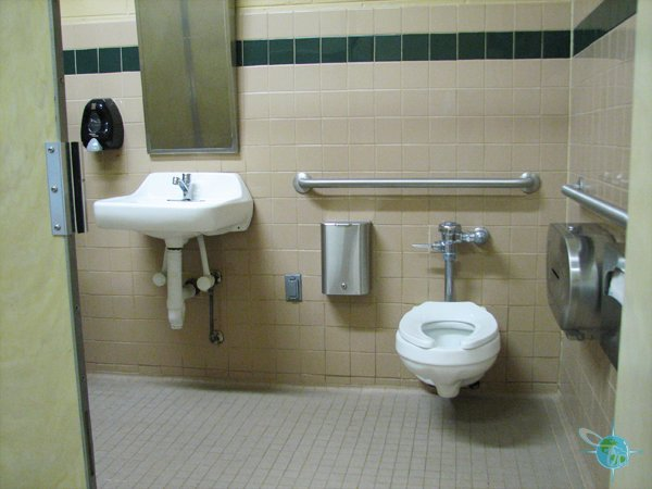 The Perfect Wheelchair Accessible Campsite on Public Restroom Floor Plans