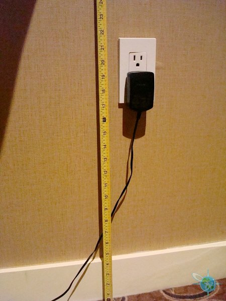 outlet height