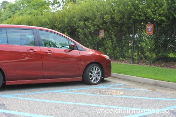 01 Visitor Center parking
