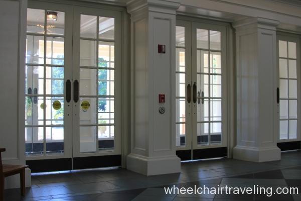 05_Power Doors in Visitors Center