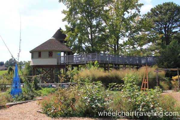 43_Accessible Treehouse from Farm Garden