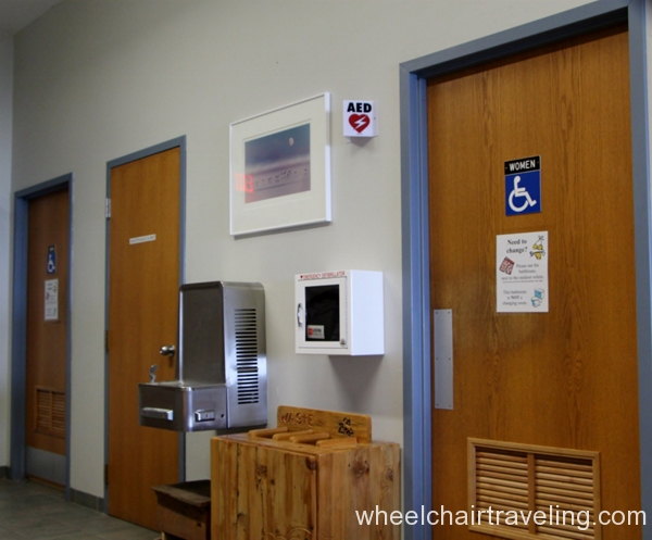 small_Accessible Restrooms in Visitor Center - Whitefish Dunes State Park