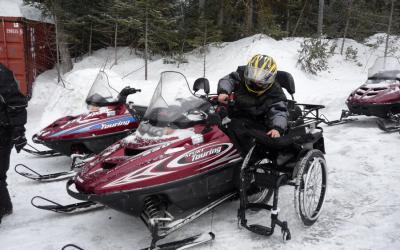Québec, Canada Snowmobiling Tour