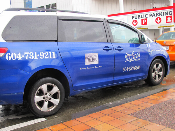 Vancouver, British Columbia: Accessible Taxis