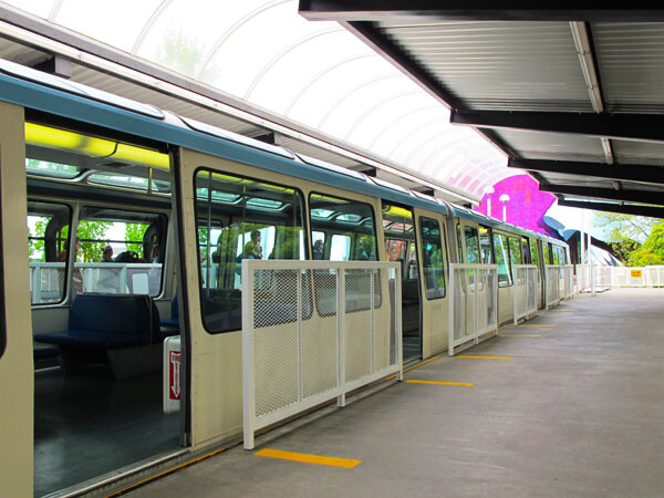 Access the Monorail in Seattle