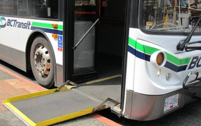 Bus System in Victoria, B.C.