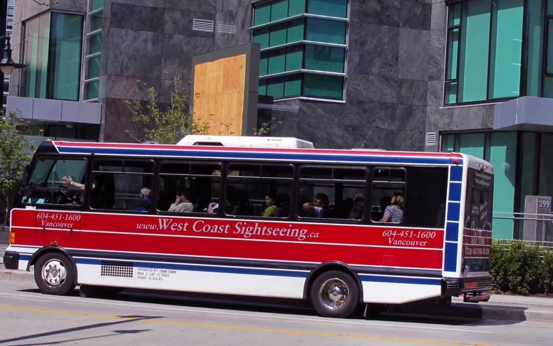 Tour Bus Whistler, British Columbia is Accessible
