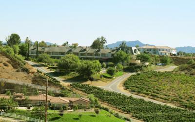 Inn at Churon Winery in Temecula, California