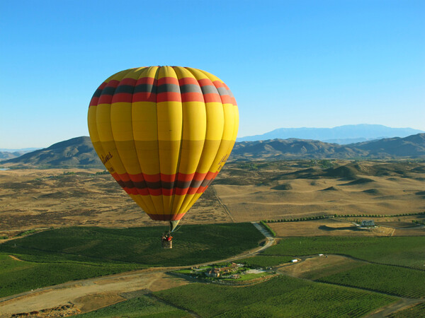 Accessible Hot Air Balloon Ride in Southern CA
