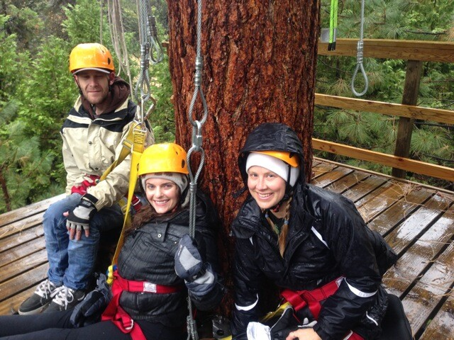 Access to Zip-Lining by Yosemite National Park
