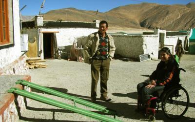 Tour Ladakh, India with a Wheelchair