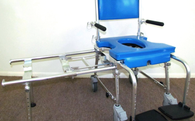 Go! Mobility Solutions: Portable Commode/Shower-Chair