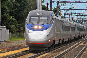 Access on Amtrak Train: New York to Washington D.C.