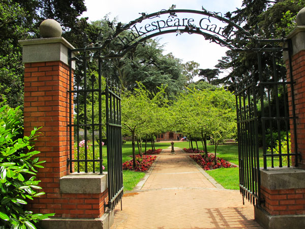 SF Golden Gate Park Attractions, Sites & Trails