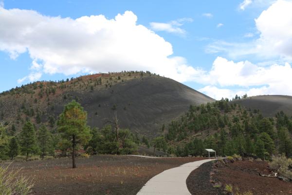 Sunset Crater Volcano + Wupatki Pueblo National Monuments