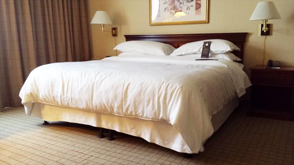 Sheraton Hotel in Old Pasadena, California