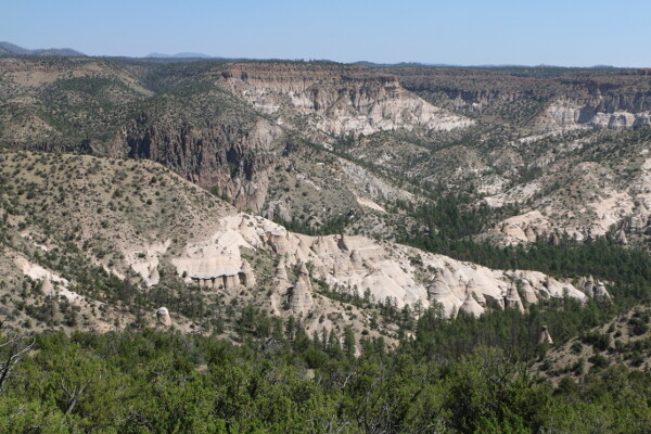New Mexico: Tent Rocks National Monument