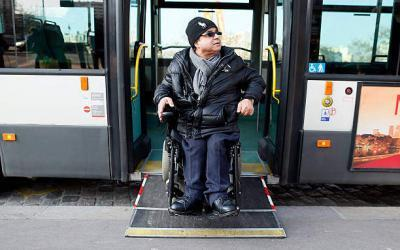 Getting around Paris with a Wheelchair
