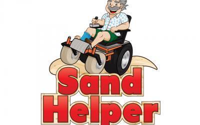 Sand Helper: Power Beach Wheelchairs