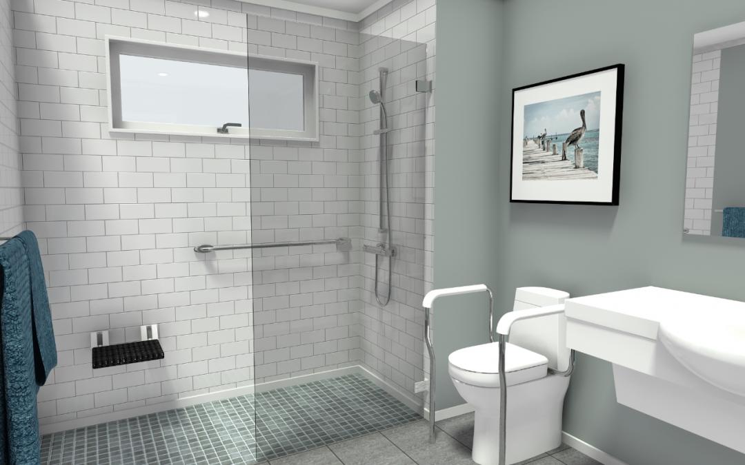 Building a Wheelchair-Friendly Bathroom