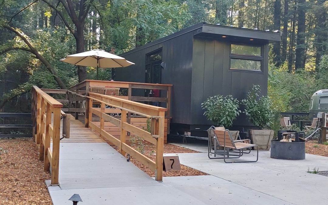 AutoCamp Russian River Glamping Cabin
