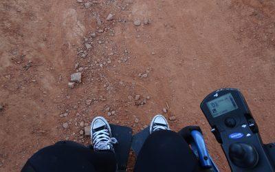 Rough Terrain in a Wheelchair